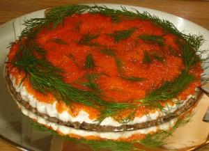 Recept på laxtårta